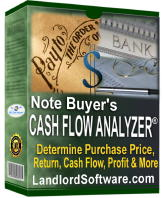 Note Buyer and Investment Software